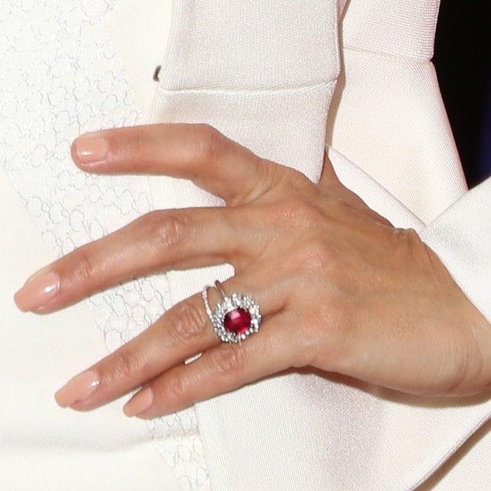 Eva Longoria's engagement ring