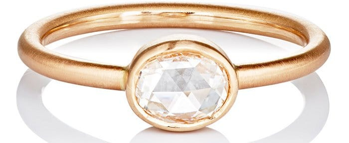 Irene Neuwirth Diamond Collection Rose Cut Diamond Ring