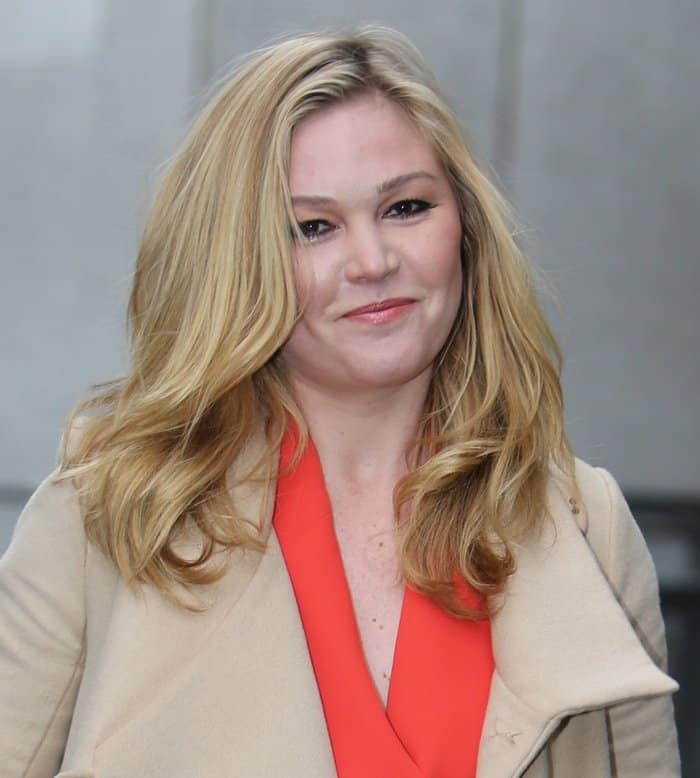 Julia Stiles announced that she got engaged over the Christmas holiday