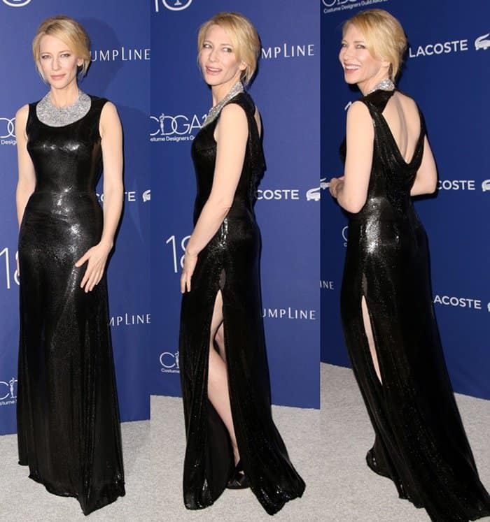 Cate Blanchett 18th Costume Designers Guild Awards