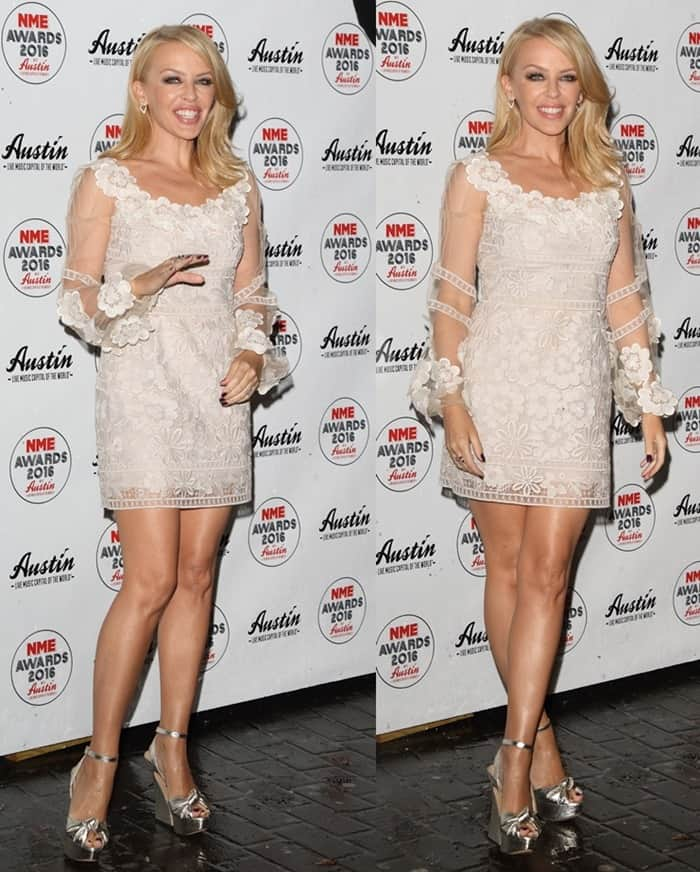 Kylie Minogue NME Awards