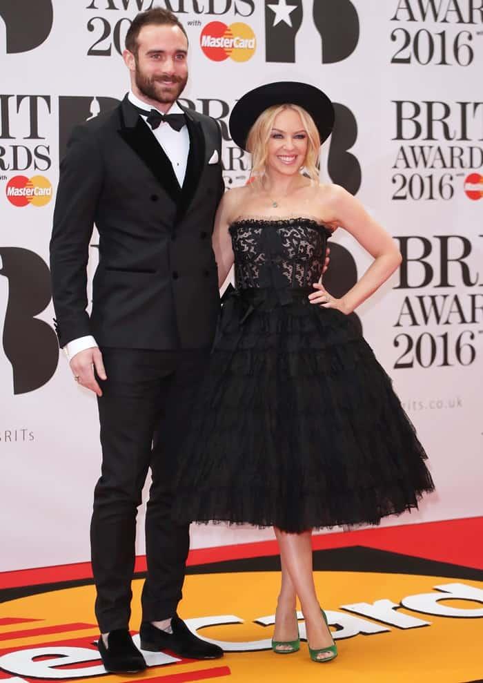 Kylie Minogue The Brit Awards 2016