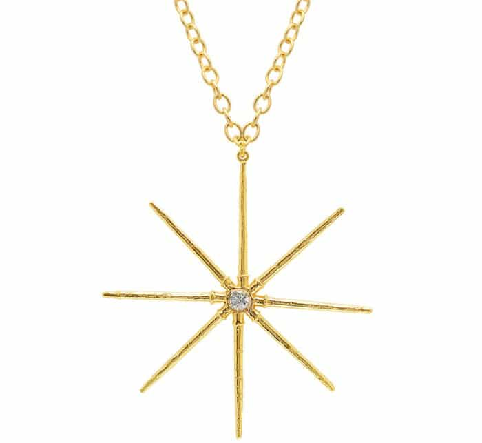 Elisabeth Bell Jewelry Sea Urchin Star Necklace