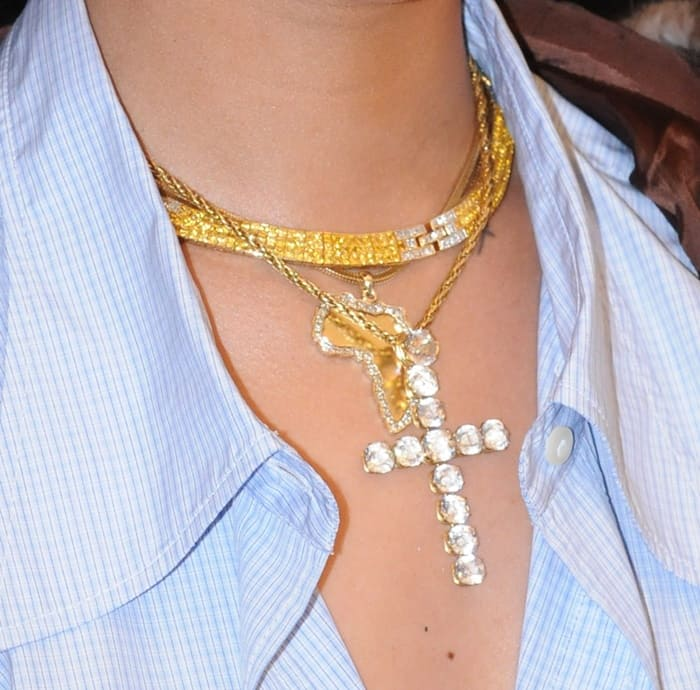Rihanna Necklace