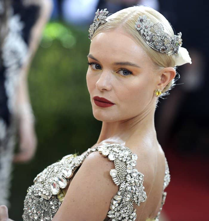 1c2172a46efa Kate Bosworth at the 2016 Metropolitan Museum of Art Costume Institute Gala  – Manus x Machina  Fashion in the Age of Technology held at the Metropolitan  ...