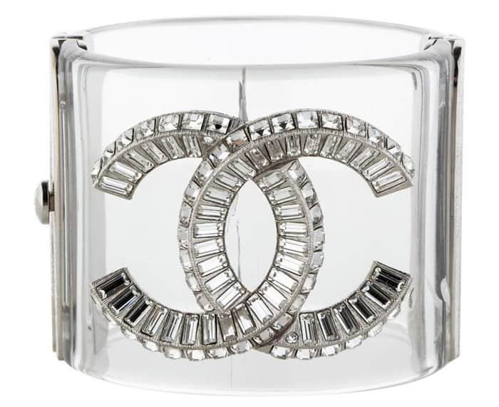 Chanel Lucite Cuff