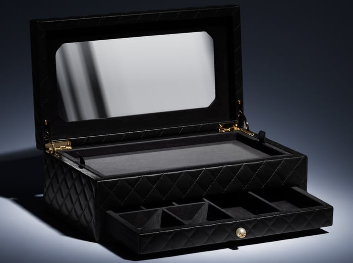 Chanel Jewelry Box Black