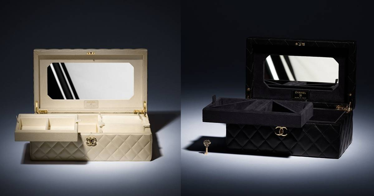 SplurgeWorthy Luxurious Chanel Quilted Jewelry Box