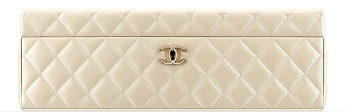 Chanel Jewelry Box White