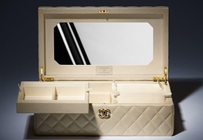 Chanel Jewelry Box White