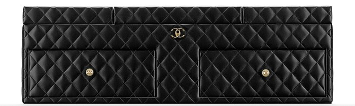 Chanel Large Jewelry Box Black