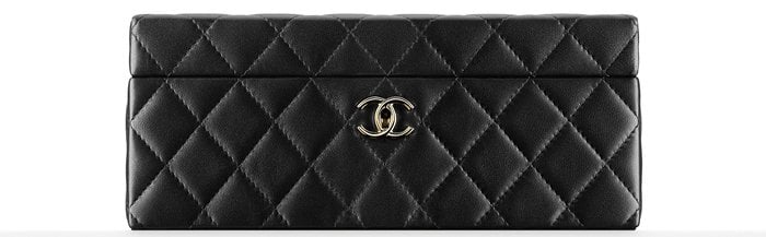 Chanel Small Jewelry Box Black