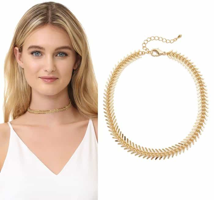 Lacey Ryan Fishtail Chioker Necklace3