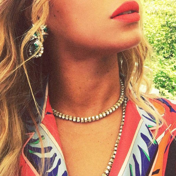 Beyonce Double Layer Necklace