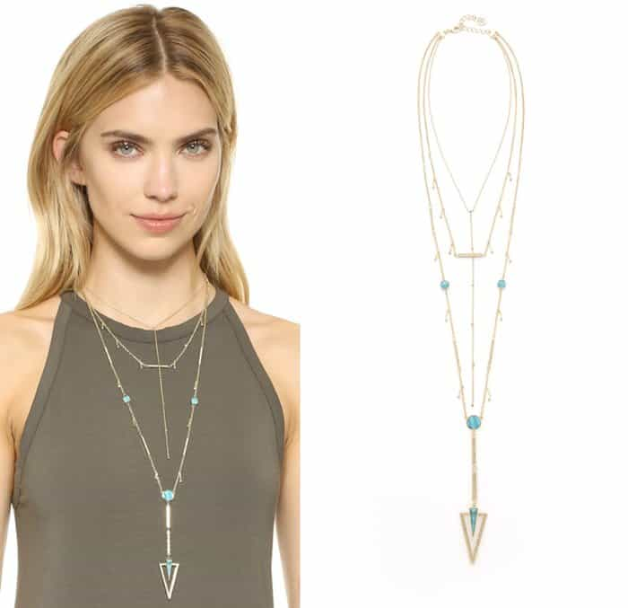 House of Harlow 1960 South Point Layered Necklace3
