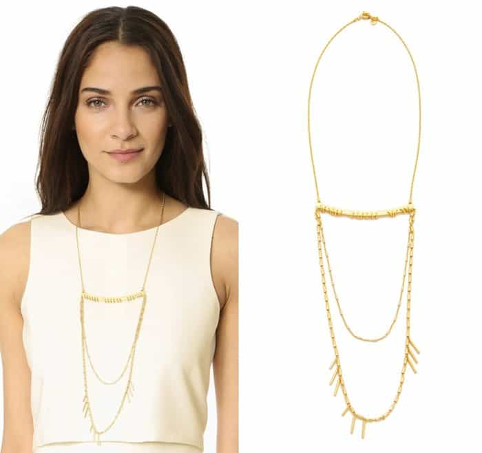 Madewell Gibraltar Layering Necklace3