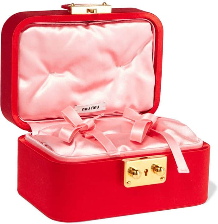 Miu Miu Satin Jewelry Box2
