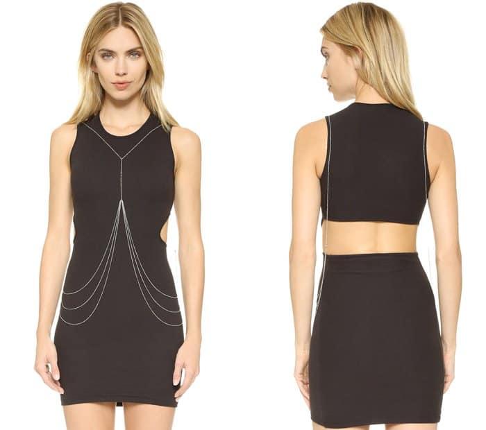 Rebecca Minkoff Triangle Stud Body Chain3