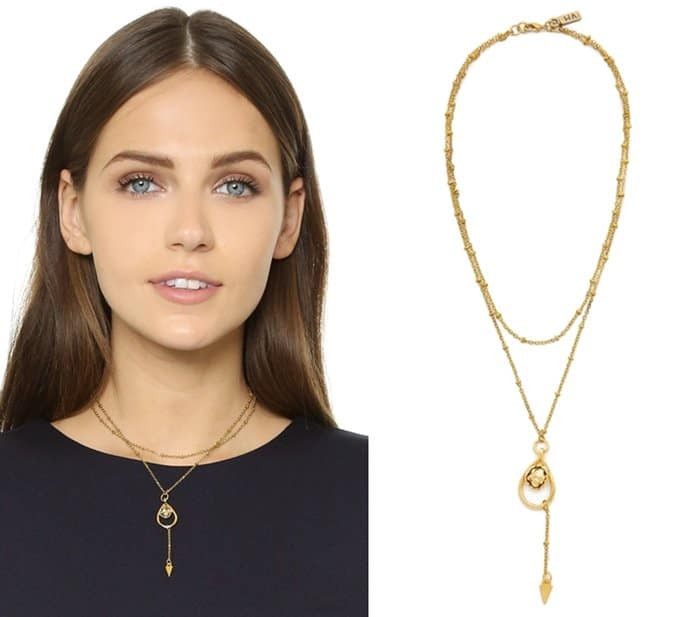 Vanessa Mooney The Morrison Chain Arrow Choker Necklace3