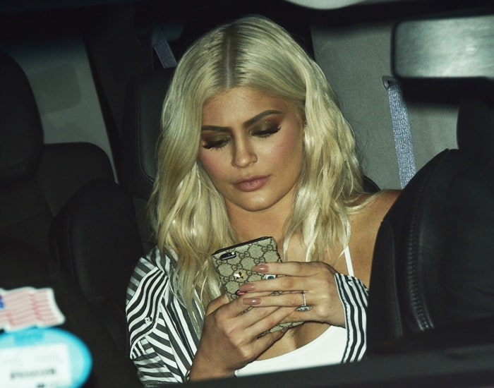 Kylie Jenner out on a date with Tyga in New York on September 7, 2016