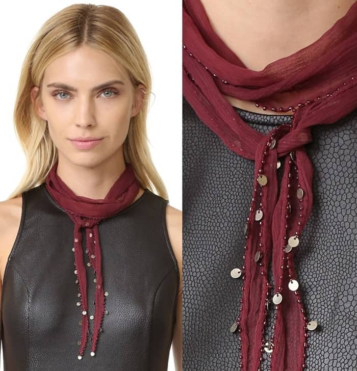 Chan Luu Shari Scarf Necklace