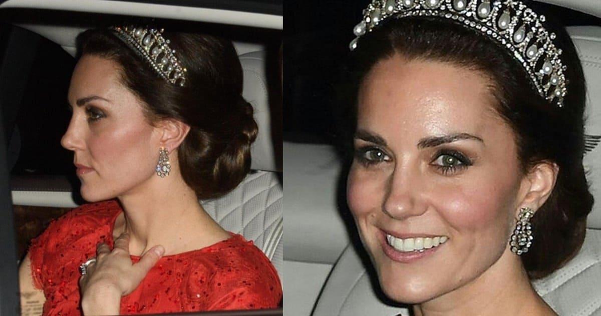 Kate Middleton Wears Princess Diana S Cambridge Lover S