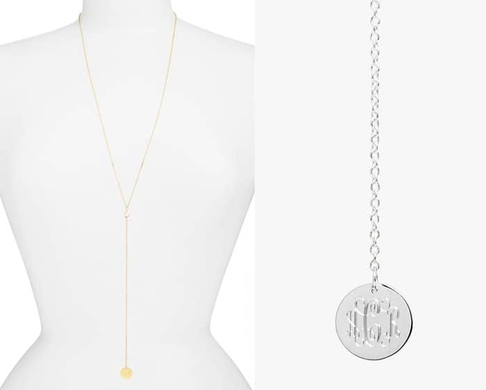 Jane Basch Personalized Y Necklace