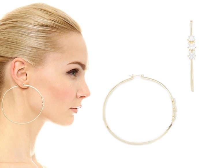 Noir Jewelry Menkalinan Earrings