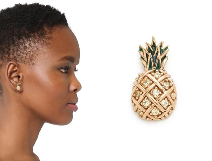 Marc Jacobs Pineapple Single Stud