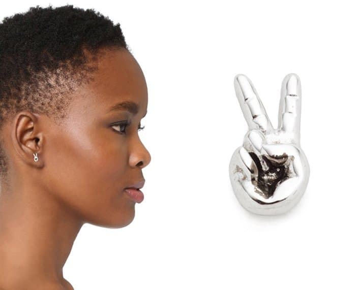Marc Jacobs Victory Hand Single Stud Earring