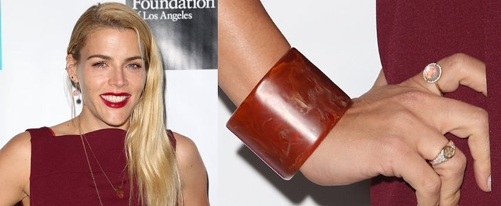 Busy Philipps Elevates Boring Outfit with Chic Earthy Jewelry