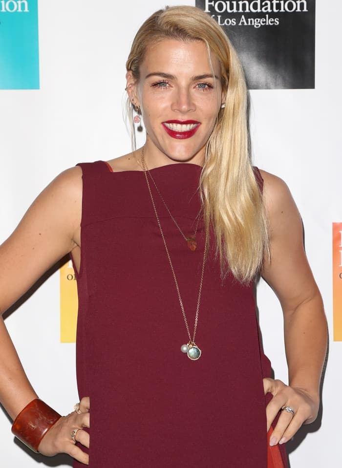 Busy Philipps at the 9th Annual Young Literati Toast in Hollywood.