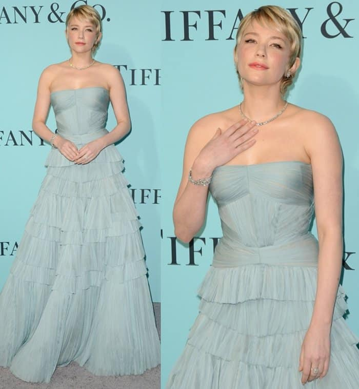 Haley Bennett at the Tiffany & Co. 2017 Blue Book Collection Gala in New York.