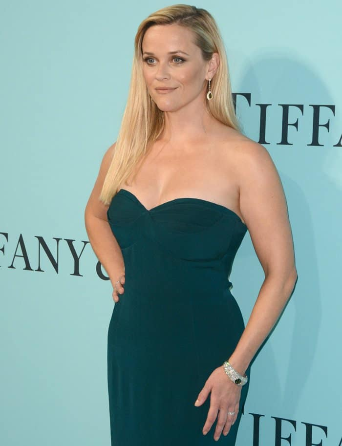 Reese Witherspoon at the Tiffany & Co. 2017 Blue Book Collection Gala in New York.