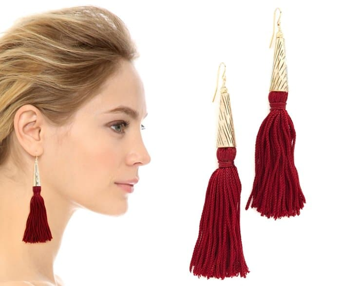 Vanessa Mooney The Claudette earrings