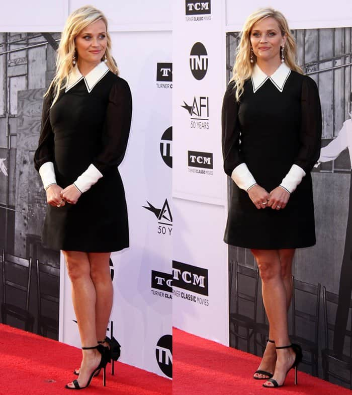 Reese Witherspoon 2017 AFI Life Achievement Award Gala Honoring Diane Keaton held at the Dolby Theatre in Hollywood.