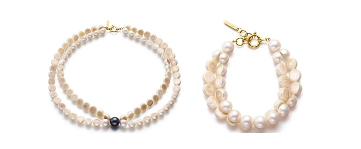 M/G Tasaki Offers Uniquely Designed Sliced Pearl Jewelry