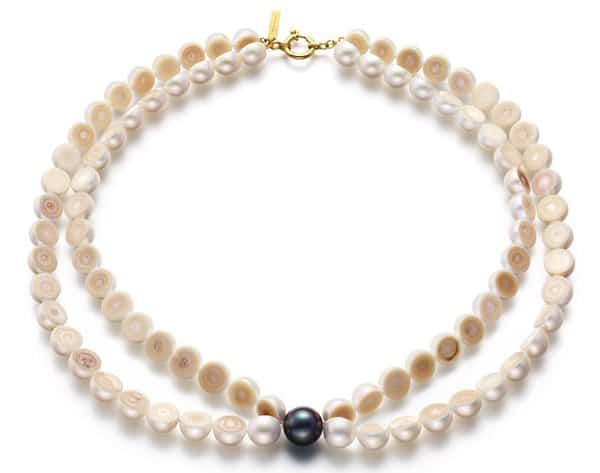 The M/G Tasaki Sliced Pearl comes in different lovable designs, from long necklaces to double layered bracelets