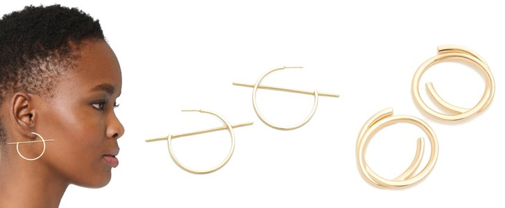 5 Pairs of Non-Basic Hoop Earrings to Rock This Season