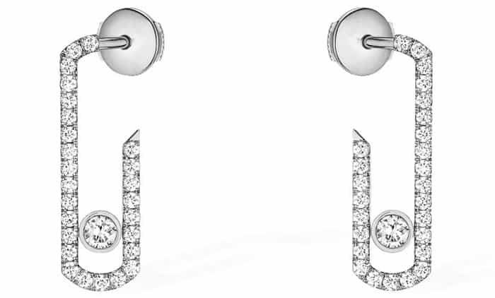 Messika Paris Move Addiction Pavé Earrings