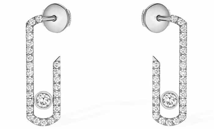 Messika Paris Move Addiction Pavé Earrings