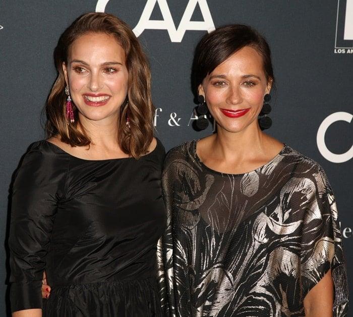 Natalie Portman and Rashida Jones at the L.A. Dance Project Annual Gala.