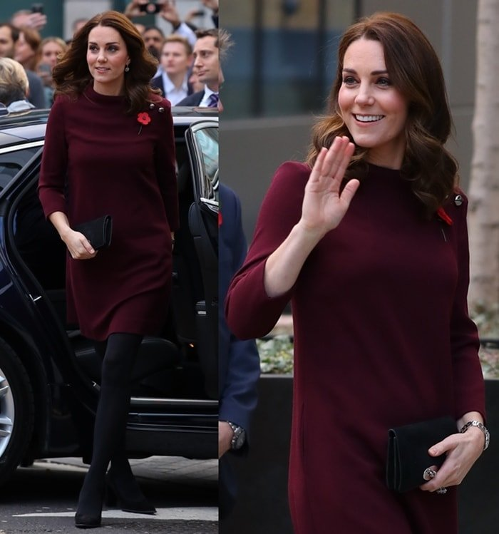 Kate Middleton at Place2Be's School Leaders Forum in London.