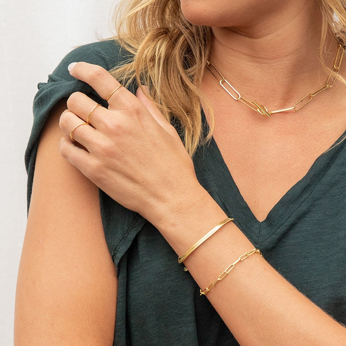 The Parker and Venice bracelets are two perfectly paired bracelets that can instantly elevate any outfit