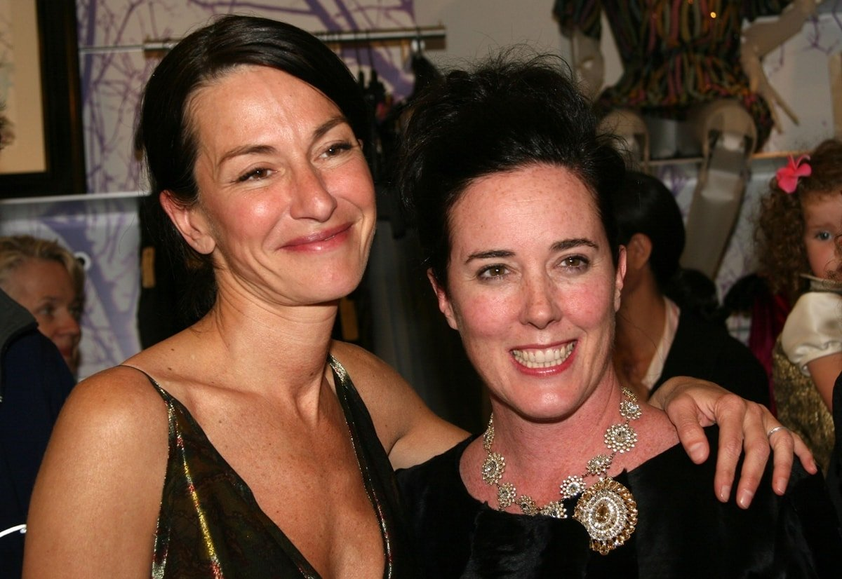 Cynthia Rowley and Kate Spade attend a book party in New York City