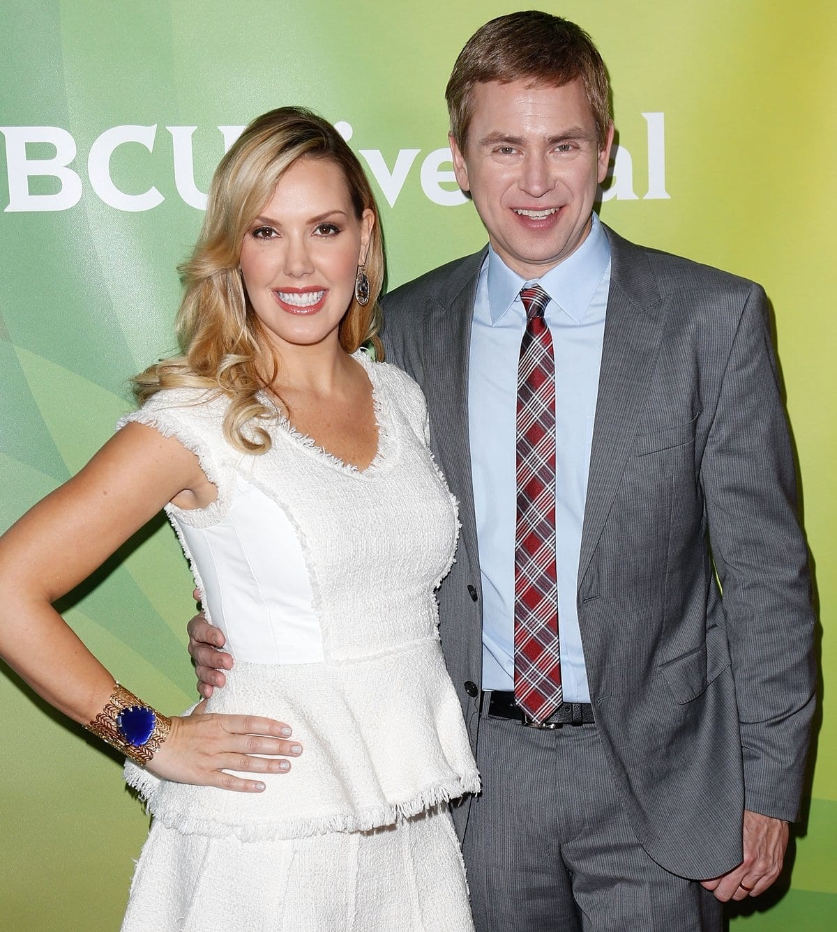 Canadian-American television host Pat Kiernan and jewelry designer Kendra Scott hosted the American competition/reality television series Crowd Rules