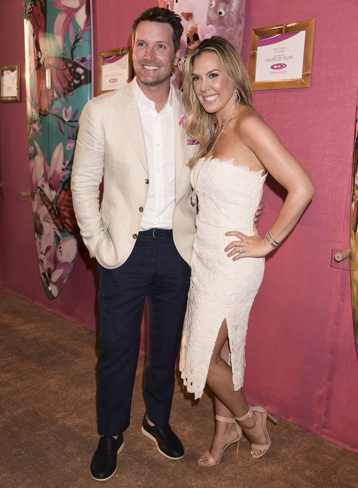 Kendra Scott with her second husband, Matt Davis, whom she married in 2014 and divorced in 2020
