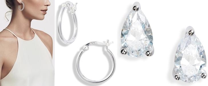 The 12 Best Sterling Silver Earrings for Women in 2021