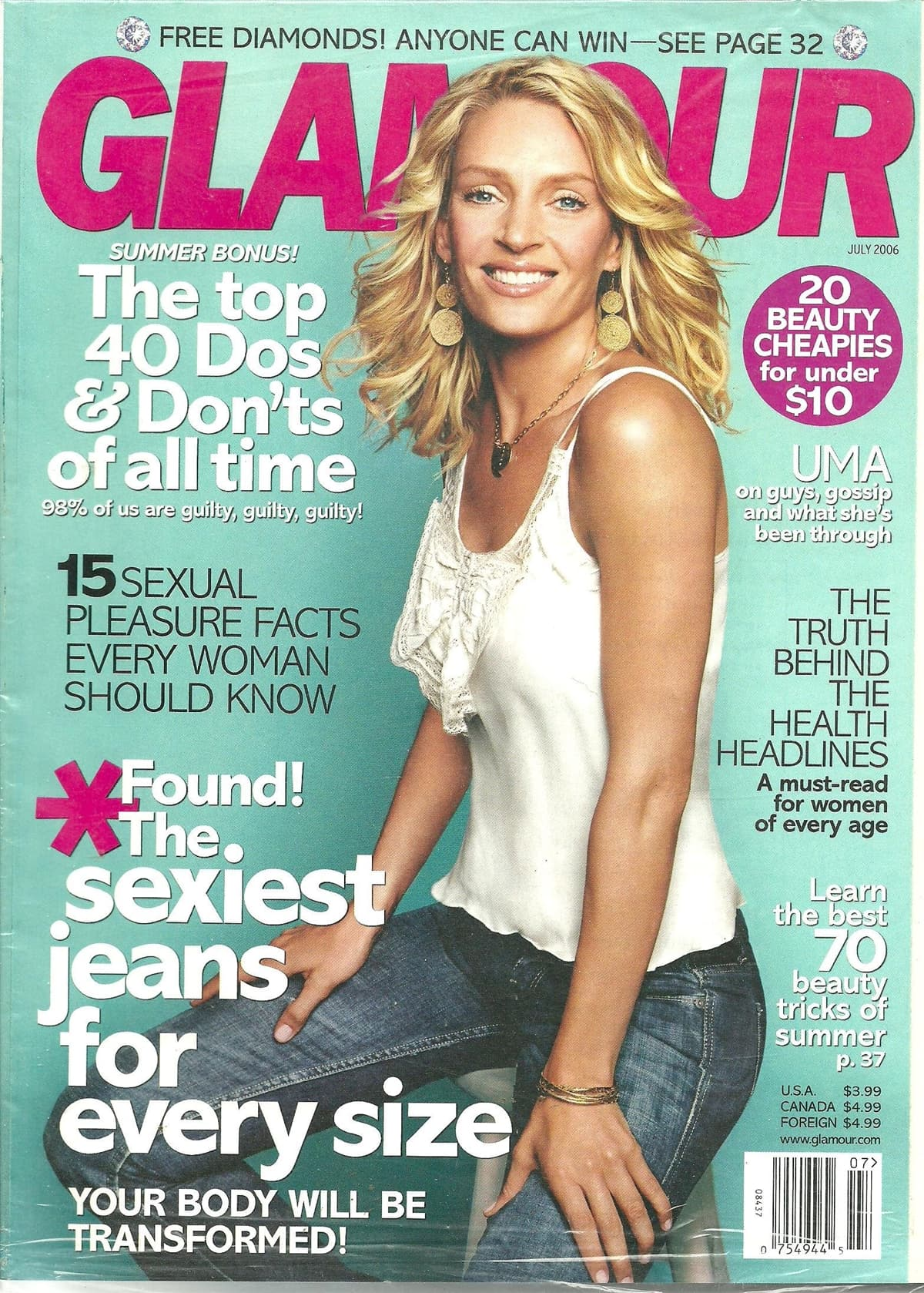 Jennifer Fisher got her breakthrough when Uma Thurman wore one of her necklaces on the cover of the July 2006 Glamour magazine