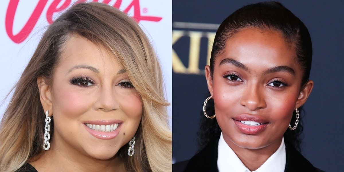 Yara Shahidi and Mariah Carey wear earrings by American jewelry designer David Yurman
